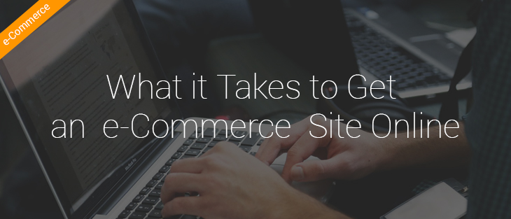 What it Takes to Get an e-Commerce Site Online